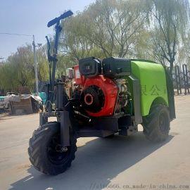园林果树农用风送式打药机,三轮乘坐式果园喷雾机
