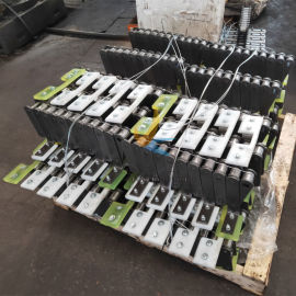 输送机链条刮板 矿用链条耐磨刮板厂家