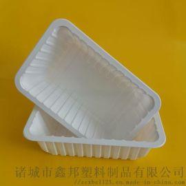 厂家供应 食品级塑料盒 扒鸡盒 生鲜托盒