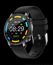 安亦美V23全圆触摸屏多功能智能手表运动手环