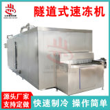 厂家销售雪糕冰棍速冻设备 连续式杂鱼冻盘速冻机