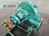 自貢自泵大流量中開蝸殼式單級雙吸離心泵迴圈泵清水泵
