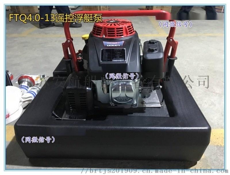 FTQ4.0/13机动浮艇泵