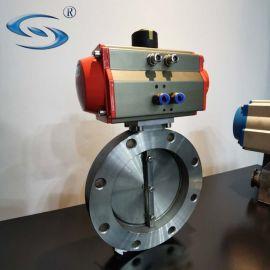 高川阀门GIQ-200单晶炉气动高真空蝶阀厂家
