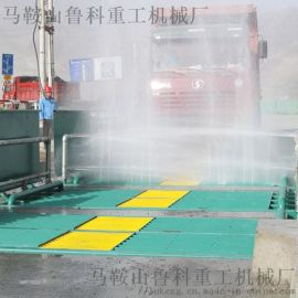 工地车辆洗轮机代替人工冲洗-多方位冲洗