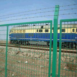 武昌高铁护栏网 铁路隔离栅 清远框架护栏网