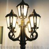 四川中晨 中式復古燈籠庭院燈熱鍍鋅