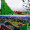 滑行车类游乐设备 主题公园游乐设施双峰埃及探险