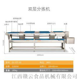 大型中央厨房全自动化叶菜清洗加工生产线设备