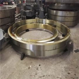 Φ1.8米滚筒干燥机滚圈定制非标尺寸