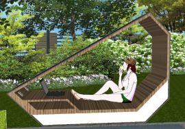 太阳能公园休息椅定制厂家