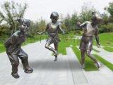 玻璃钢仿铜人雕塑  千硕雕塑广场雕塑 可来图定制