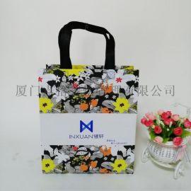 福建南平厂家专业定做  礼品袋,覆膜无纺布手提袋