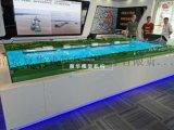 長江水上船舶服務區模型