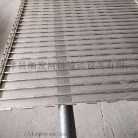 高温输送带挡板式链板