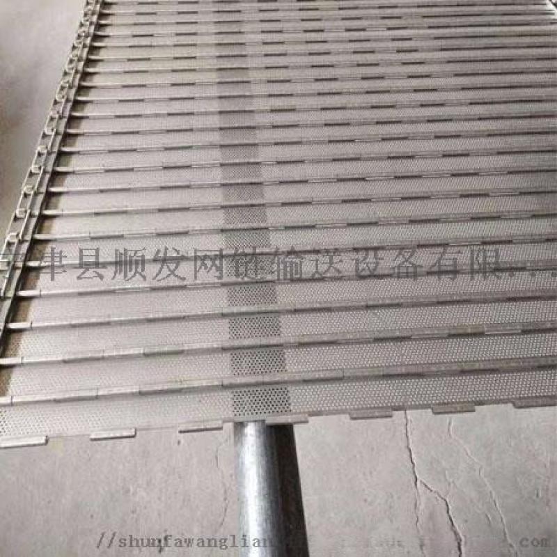 高溫輸送帶擋板式鏈板
