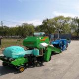 全自动青贮饲料打包机,大型玉米秸秆打捆机