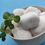 山东白色卵石   永顺雪花白卵石供应