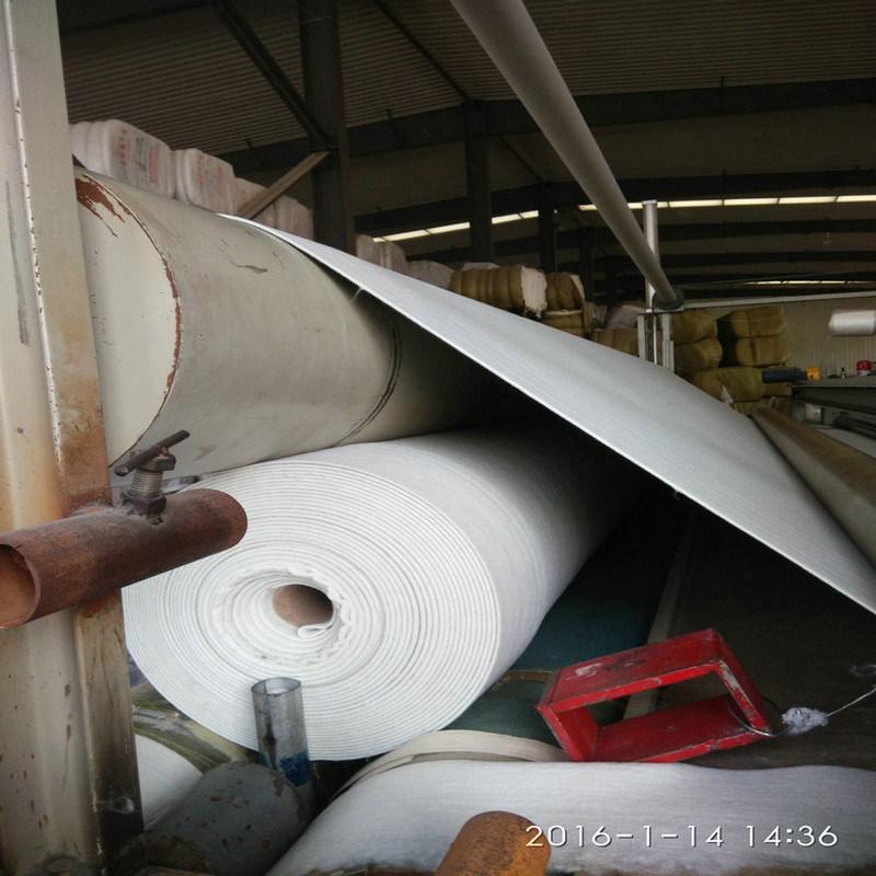天津350克長絲非織造土工布  安裝