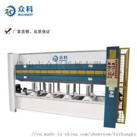 三层热压机 木板压机复合板贴面压板设备木工热压机