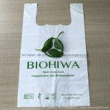 T-shirt bag玉米澱粉全降解背心袋 購物袋