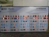 生产厂家供应科辰电子计时温湿度看板电子看板