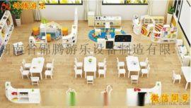 湖南幼儿园整体家具定制实木桌椅规划设计安装售后