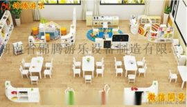 湖南幼兒園整體家具定制實木桌椅規劃設計安裝售後