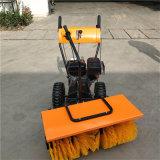 華科機械 操場跑道清雪掃雪機 手推式全齒輪掃雪機