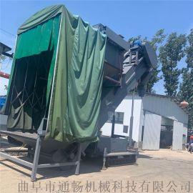大型搅拌站存灰集装箱中转输送设备码头用灰料倒车机