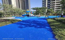 深圳epdm彩色橡胶颗粒,幼儿园专用悬浮地板厂家