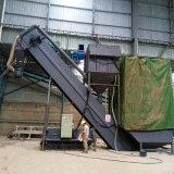 通暢集裝箱卸灰機 山西鐵運粉煤灰卸車機 無塵拆箱機