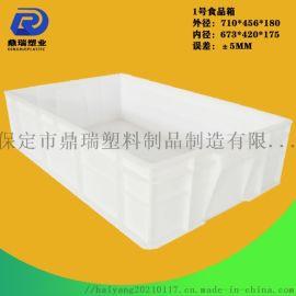 1号食品箱加厚纯料食品级面包箱工具箱