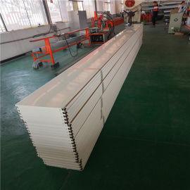 粉末白色铝合金吊顶 防风防震铝条扣吊顶