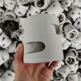 科隆填料DN76陶瓷鲍尔环制作流程耐酸瓷质鲍尔环