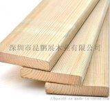 惠州厂家供应多种规格樟子松防腐木 昆鹏展现货供应