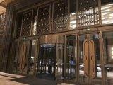 不锈钢屏风激光镂空酒店大堂售楼部