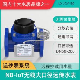 深圳捷先螺翼式大口径可拆卸法兰水表DN65