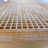 污水池玻璃鋼格柵板加厚網格柵板