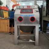 中山喷砂机,环保箱式手动湿喷砂机