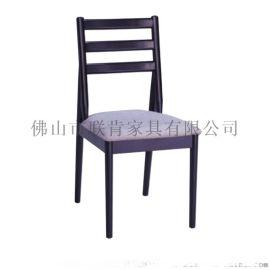 北欧实木餐椅现代简约家用时尚靠背椅小户型酒店餐厅舒适软包椅子