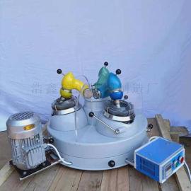 供应实验室三头研磨机 XPM120*3玛瑙研磨机
