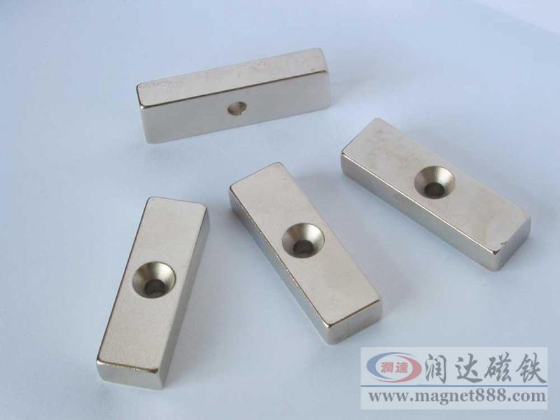 方块磁铁/圆环磁铁/沉孔强力磁铁加工