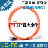 LC-LC雙芯多模跳線