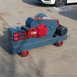 厂家定制角钢切断机 建筑工地钢筋下料机