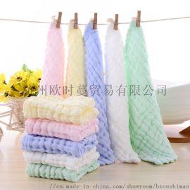 廠家直銷兒童方巾口水巾 全棉母嬰用品嬰兒口水巾