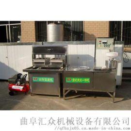 全自动干豆腐机商用 豆腐自动流水线 利之健食品 自