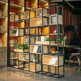 佛山蓝博旺供应欧式不锈钢花格展示柜 展示架