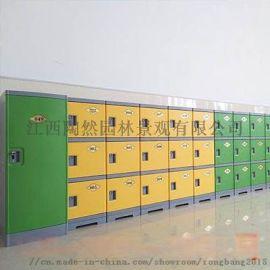 abs塑料学生书包柜教室储物柜格子带锁学生收纳柜