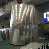 2.5mm鏤空衝孔包柱鋁單板 3.0白色鋁板圓柱